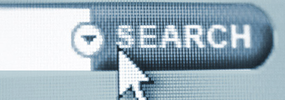 Search Icon from Search Bar Used for Paid Search