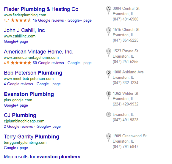 Evanston Plumbers 7 Pack listing
