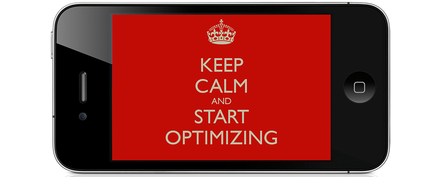 Keep Calm Optimizing