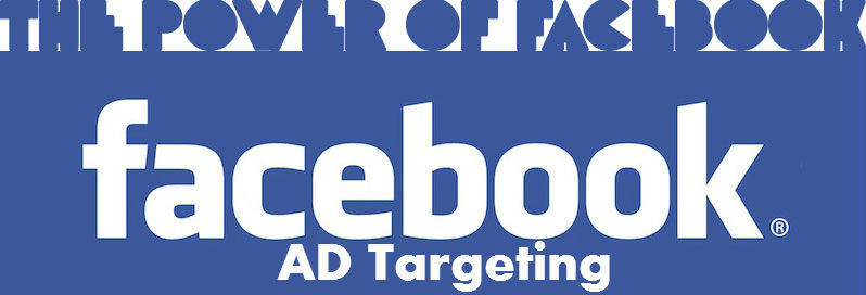 Modified Facebook Logo Showing The Power Of Facebook Ad Targeting