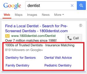 dentist ad